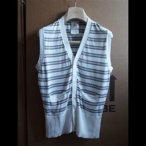 Black Fleece by Brooks Brothers cardigan vest